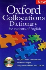 Oxford Collocations Dictionary + CD