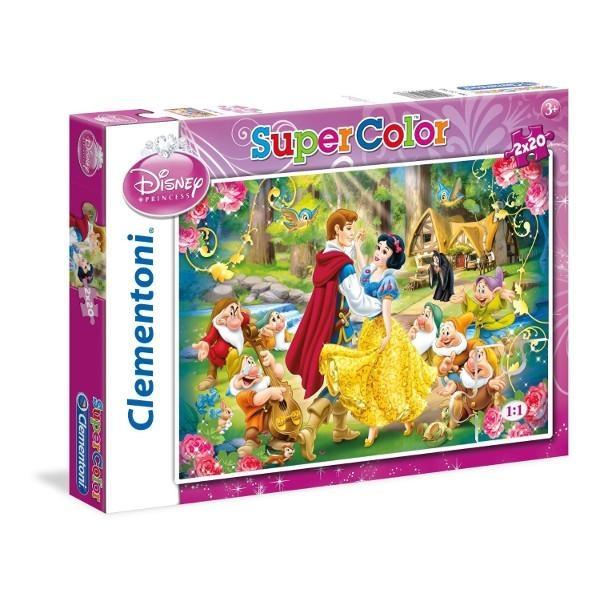 Puzzle 2x20el.Królewna Śnieżka (24738)