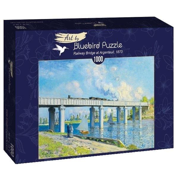 Puzzle 1000: Widok na most kolejowy w Argenteuil