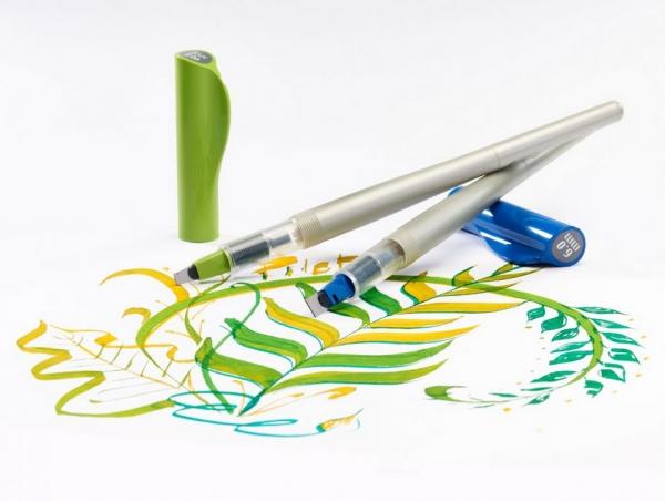 Pióro kreatywne Pilot Parallel Pen zielone (FP3-38-SS)