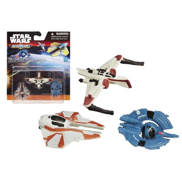 HASBRO SW E3 3Pack, Clone Fighter (B3500EU42/B4105)