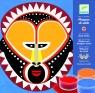 Zestaw artystyczny z piaskami Maski Indian (DJ08638)