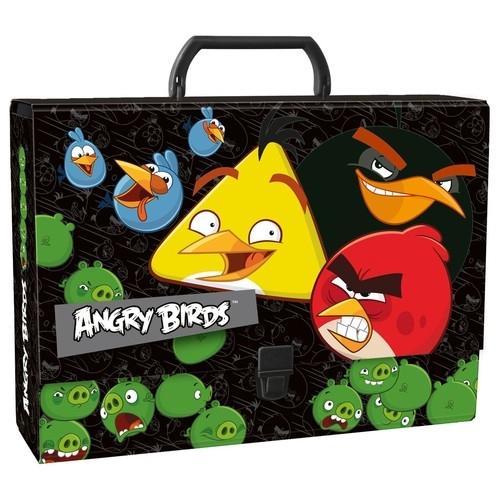 Teczka z rączką gruba Angry Birds