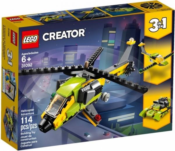 Klocki Creator Przygoda z helikopterem (31092)