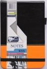 Notes kieszonkowy Soul A6 kratka czarny-pomarańczowy