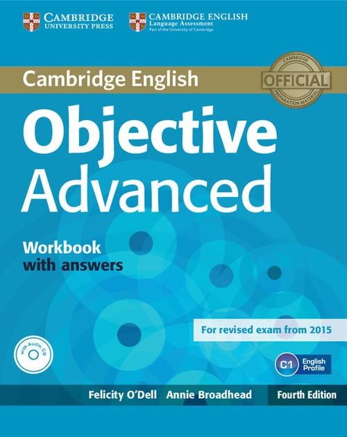 Objective Advanced Workbook with Answers + CD Odell Felicity, Broadhead Annie