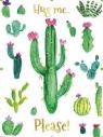 Karnet B6 Kaktusy