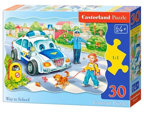 Puzzle konturowe 30: Way to School