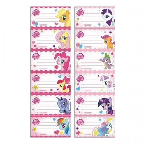 Naklejki na zeszyt My Little Pony 25szt