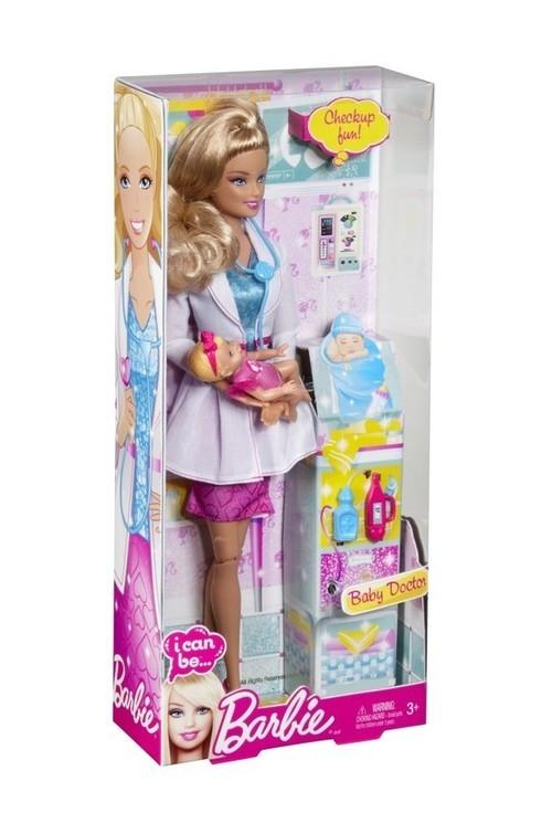 Barbie I can be Lekarz dziecięcy