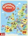 Naklejkowy atlas Europy
