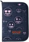 Piórnik dwuklapkowy bez wyposażenia Emoji (PC-03)