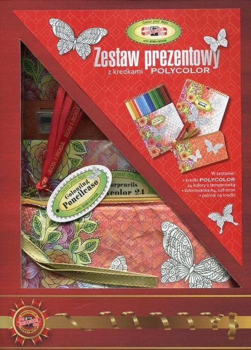 Zestaw prezentowy z kredkami Polycolor