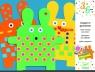 Papierowe króliki do dekoracji (DJ08938)