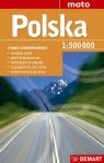 Polska mapa samochodowa 1:500 000