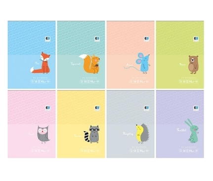 Notes A7/50 kartkowy w kratkę - B&B Kids (20 szt.)
