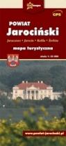 Powiat Jarociński - mapa turystyczna