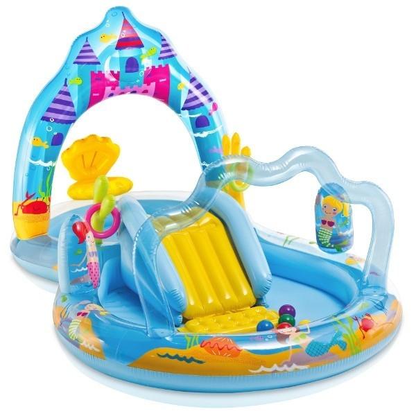 INTEX Wodny plac zabaw + zjeżdżalnia