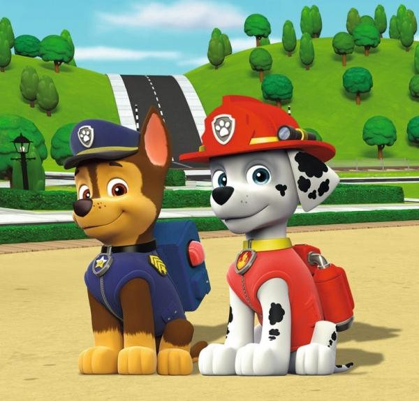 Puzzle 3w1: Psi Patrol - Zespół na czterech łapach (9239)