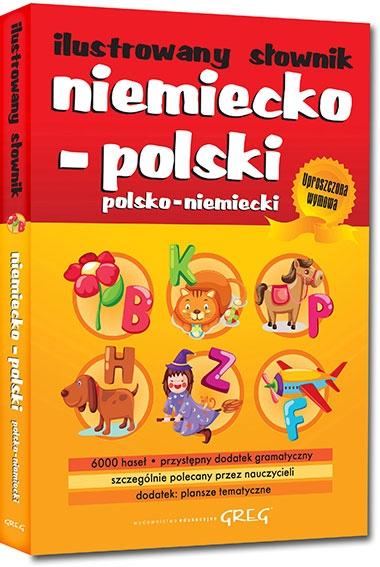 Ilustrowany słownik niemiecko-polski, polsko-niemiecki Adrian Golis