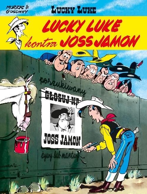 Lucky Luke kontra Joss Jamon - Tom 11 Goscinny Rene, Morris