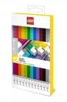 Kolorowe długopisy żelowe LEGO - 12 szt. (51639)