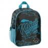 Plecak przedszkolny Maui and Sons czarno-niebieski (MAUM-303)