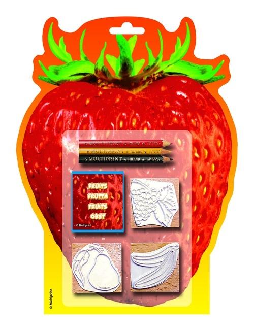 Pieczątki Owoce