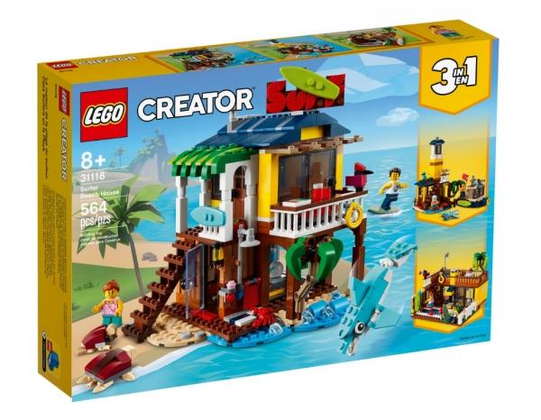 Lego Creator: Domek surferów na plaży (31118)