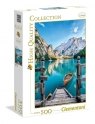 Puzzle High Quality Collection Braies lake 500 (35039)