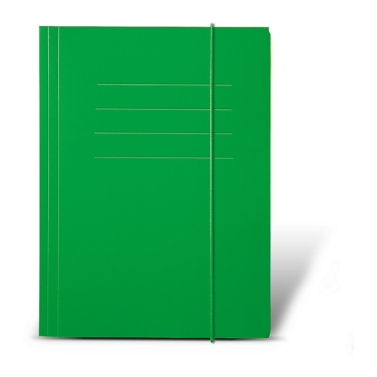Teczka z gumką Protos A4, zielona (144322)