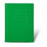 Teczka z gumką Protos A4 - zielona (144322)