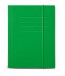 Protos, teczka z gumką A4 - zielona (144322)