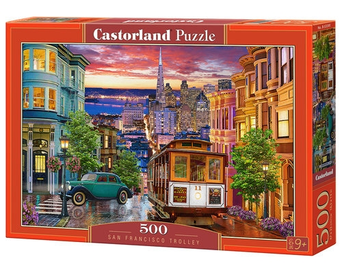 Puzzle San Francisco Trolley 500