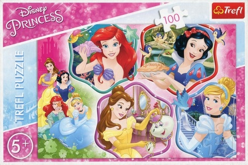Puzzle 100: Magia księżniczek (16339)