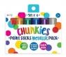 Farby w kredce Chunkies Paint Sticks Metallic 6szt