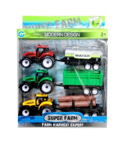 Traktor 3 szt.