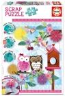 500 Elementów Scrap Puzzle Valentine Art