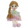 Lalka Emilka różowa sukienka, brazowe włosy (5080a) Wiek: 0+