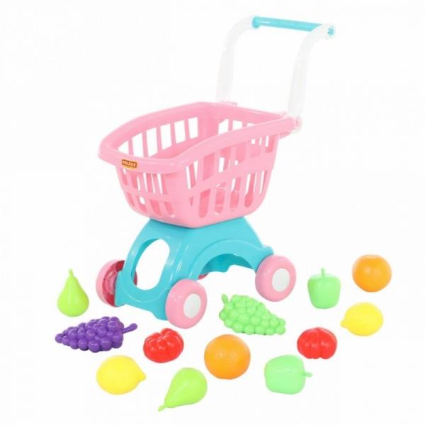 Wózek do sklepu mini i zestaw zakupowy (71392)