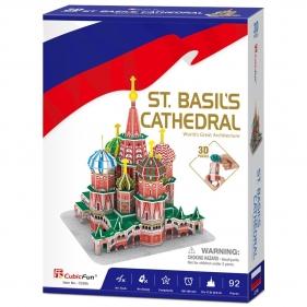 Puzzle 3D: Katedra Św. Wasyla (306-20093)