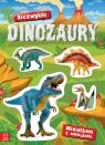 Minialbum z naklejkami Niezwykłe dinozaury