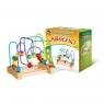 Zabawka edukacyjny labirynt drewniany