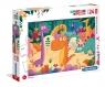 Puzzle Supercolor Maxi 24 Jurassic Friends