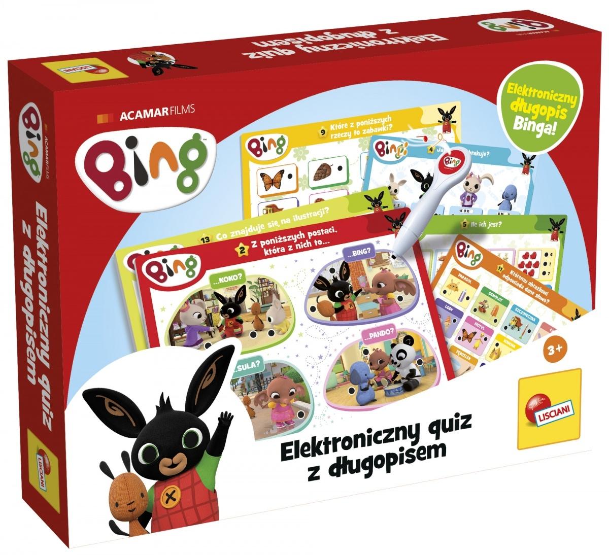 Bing - Elektroniczny quiz z długopisem (304-PL7687)