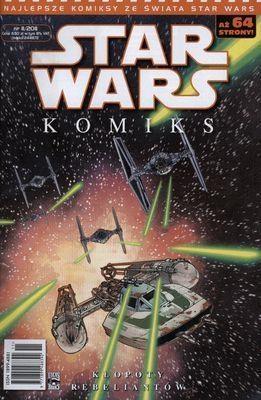 Star Wars komiks. Kłopoty rebeliantów praca zbiorowa