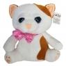 Kotek Błyskotek biało-brązowy 23 cm (4797a)
