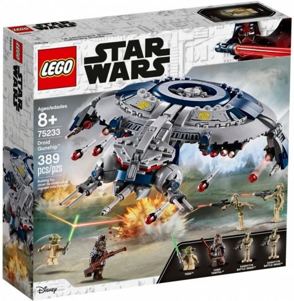 Klocki Star Wars Okręt bojowy droidów (75233)