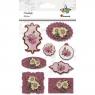 Naklejka ramki - kwiaty (389901)