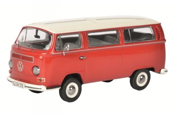SCHUCO Volkswagen T2a Bus L (redwhite) (450333900)